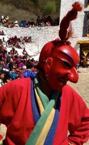 festival in Paro, Bhutan